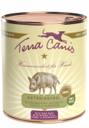 Terra Canis Wild Boar with Natural Rice, Fennel & Raspberries 800 g