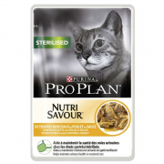 Purina Pro Plan Sterilised Wet Food with Chicken 85 g