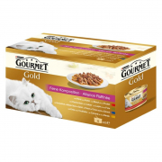 Purina Gourmet Gold Fine Composition Multipack 4x85 g