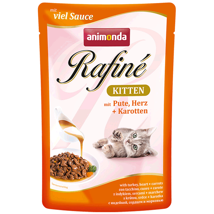 Animonda Rafiné with Sauce Kitten Turkey, Heart & Carrots   order cheap