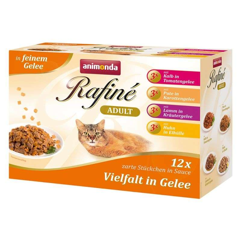 Animonda Rafiné Variety in Jelly Adult, Multipack 12x100 g