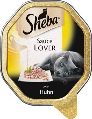 Sheba Sauce Lover with Chicken 85 g buy online