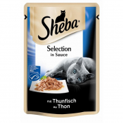 Sheba Selection in Sauce con Atún 85 g