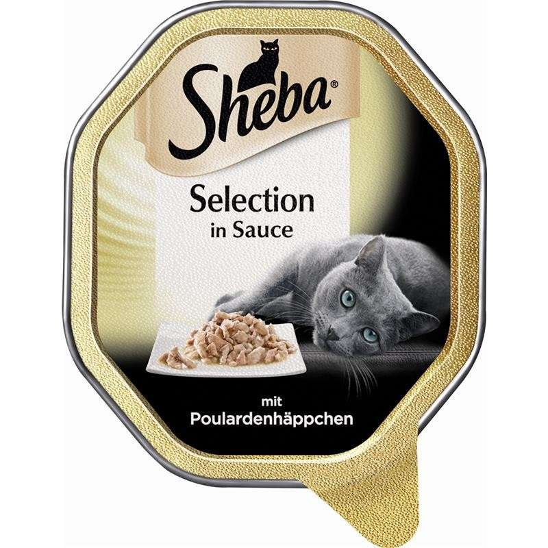 Sheba Selection in Sauce with Poularde Chunks 85 g