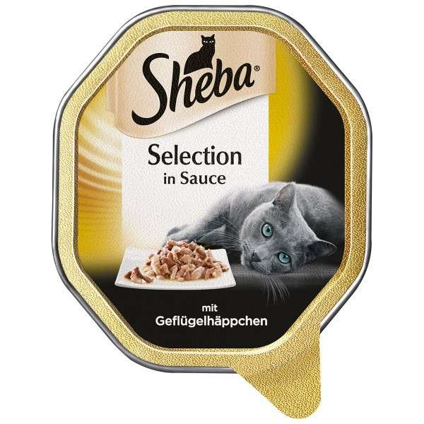 Selection in Sauce with Poultry Chunks by Sheba 85 g buy online