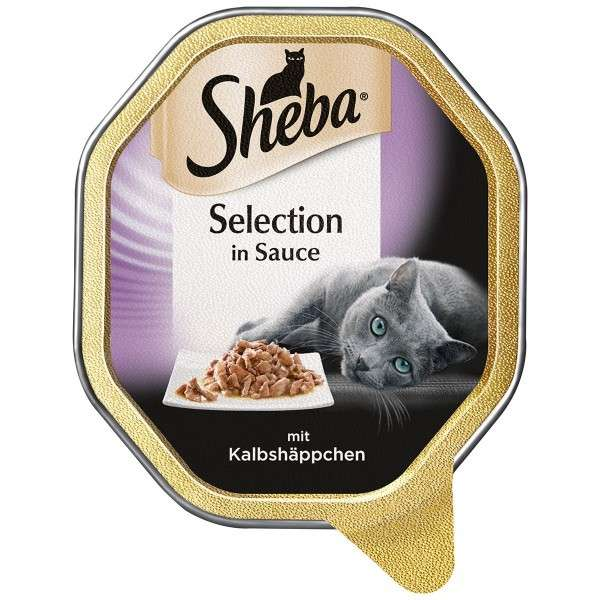 Sheba Selection in Sauce Bitar av Kalv 85 g