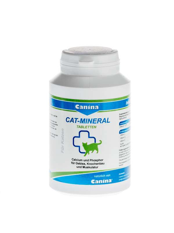 Canina Pharma Cat-Mineral Tablets 150 g 4027565220939 ervaringen