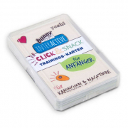 Bunny Nature Interactive Training Cards - Click & Snack