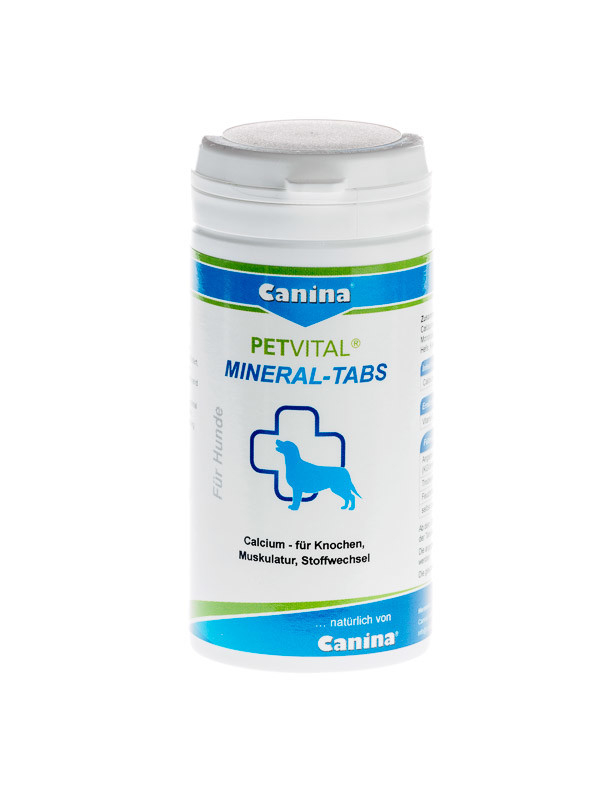 Petvital Mineral Tablets from Canina Pharma 1 kg, 100 g buy online