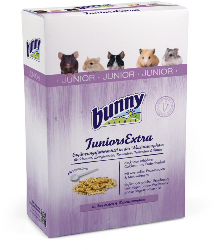 Bunny Nature JuniorsExtra Granivor 150 g 4018761208005
