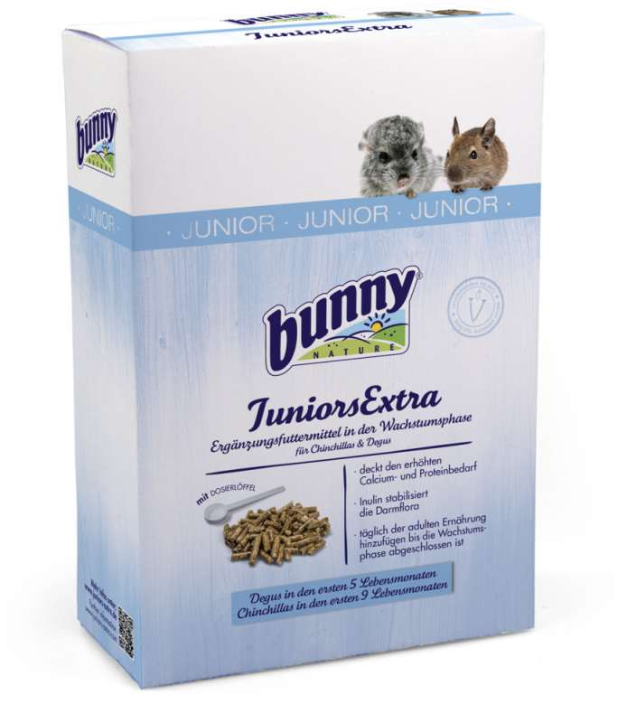 Bunny Nature JuniorsExtra Folivor 250 g 4018761206001