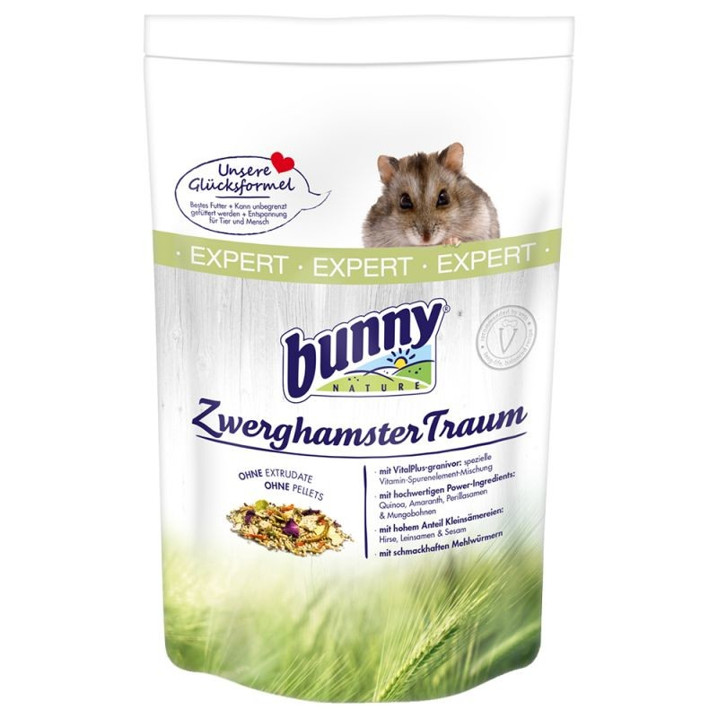 Bunny Nature Dwerghamster Droom Expert 500 g 4018761209224