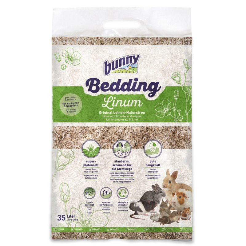 Bunny Nature BunnyBedding Linum  35 l