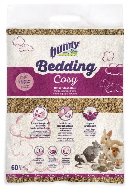 Bunny Nature BunnyBedding Cosy  60 l