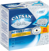 Catsan Active Fresh Clumping Litter, 8 L 8 l