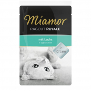 Miamor Ragout Royale Salmon in Yoghurt Cream Laks