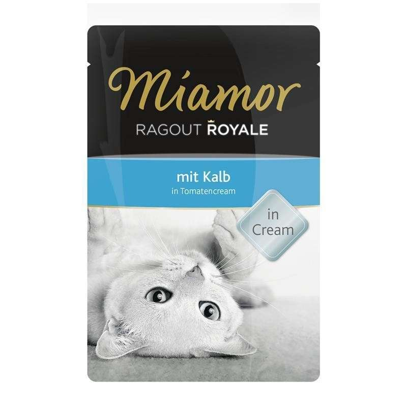 Miamor Ragout Royale Kalb in Tomatencream 100 g 4000158730428