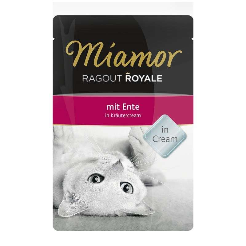 Miamor Ragout Royale Ente in Kräutercream 100 g