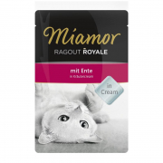 Miamor Ragout Royale Duck in Herbal Cream