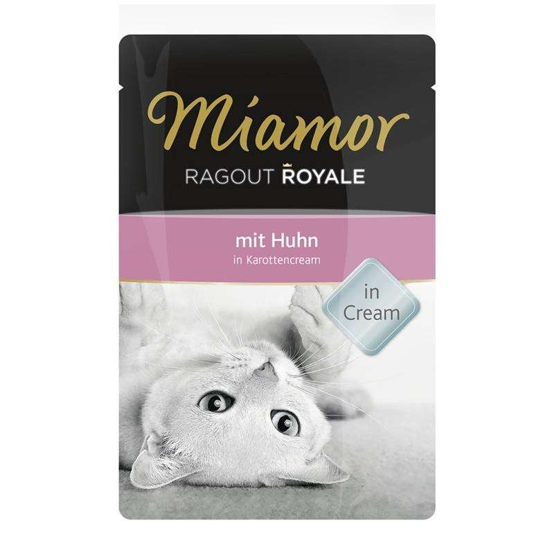 Miamor Ragout Royale Huhn in Karottencream  Test