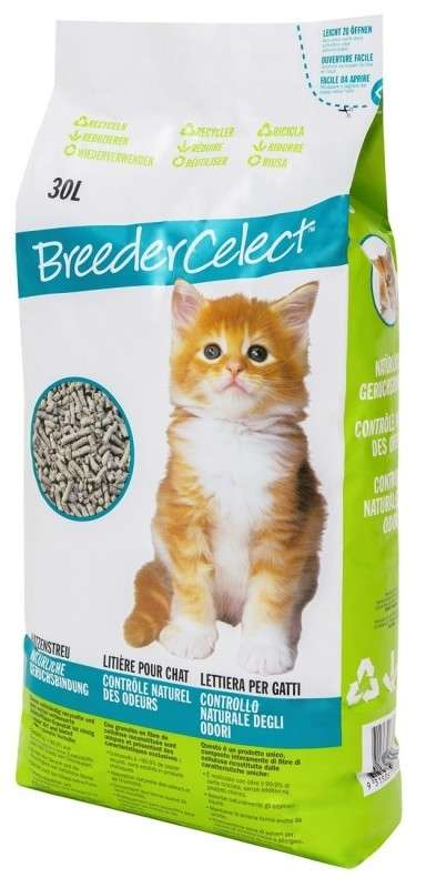 FibreCycle Breeder Celect Cat Litter  30 l