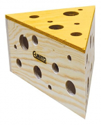 Elmato Cheese House for mice 27x14 cm
