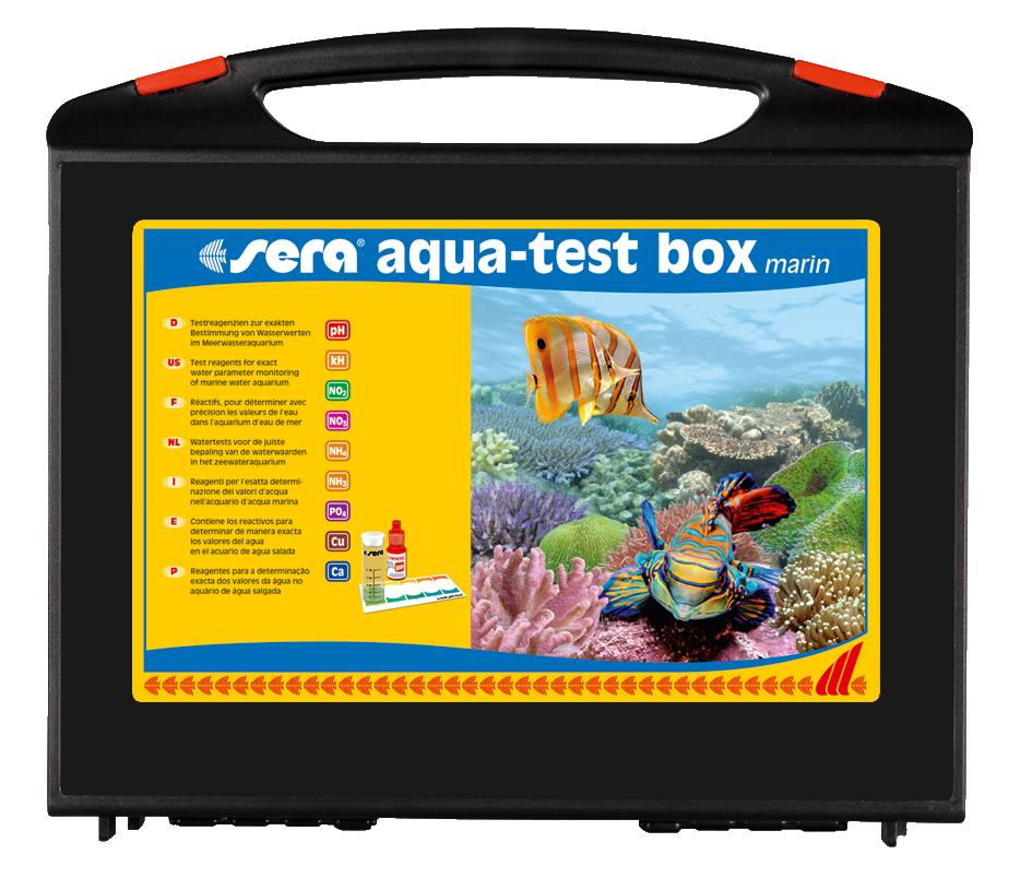 Sera Aqua-test box marin (Ca)  4001942040044
