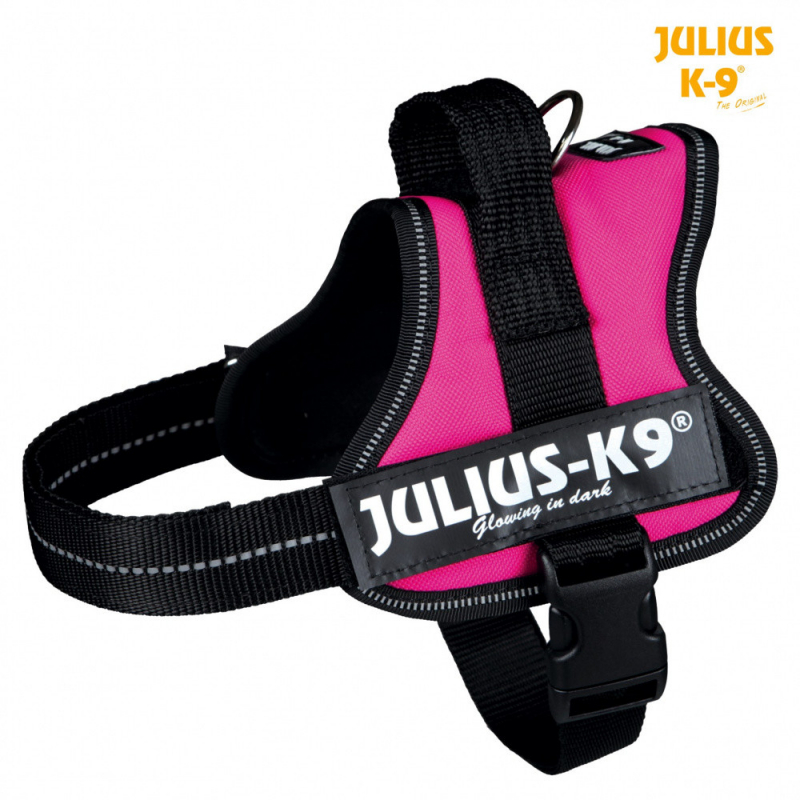 Julius K9 Powersele Mini, 51-67 cm, röd  Fuchsia M