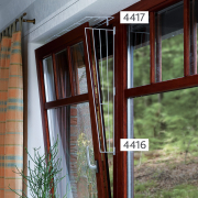 Trixie Window Protective Grid, Side 62x16/8 cm