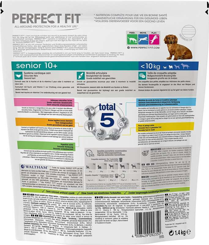 Perfect Fit Senior XS/S 10+, Huhn 1.4 kg