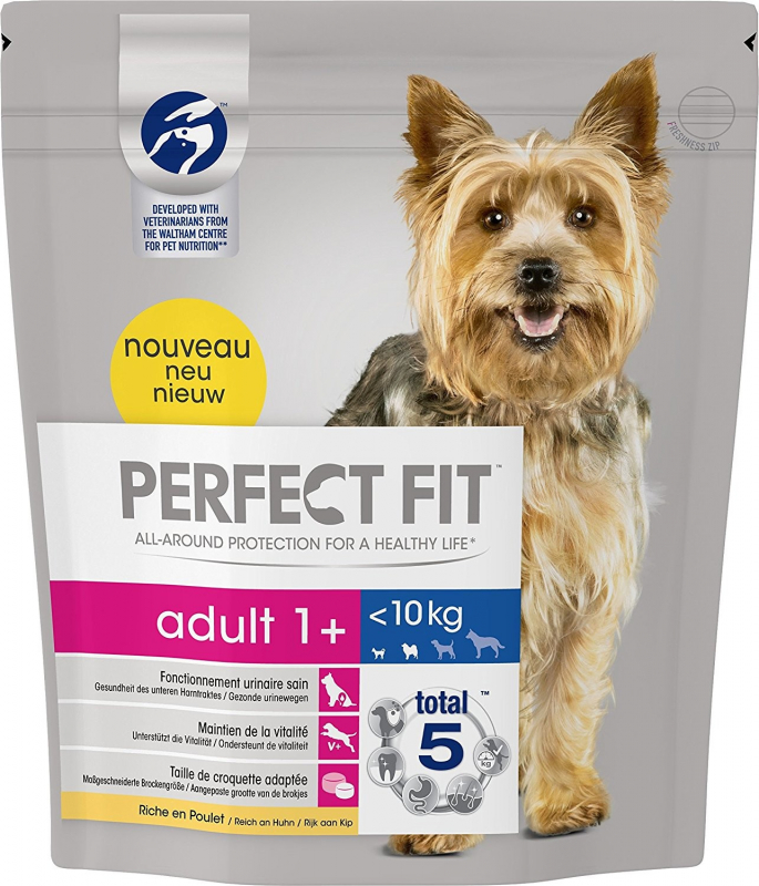 Perfect Fit Adult 1+ XS/S Poulet 825 g, 1.4 kg