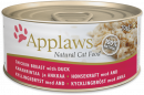 Applaws Natural Cat Food Kipfilet met Eend 70 g