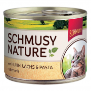 Schmusy Nature's Menu Chicken & Salmon 190 g