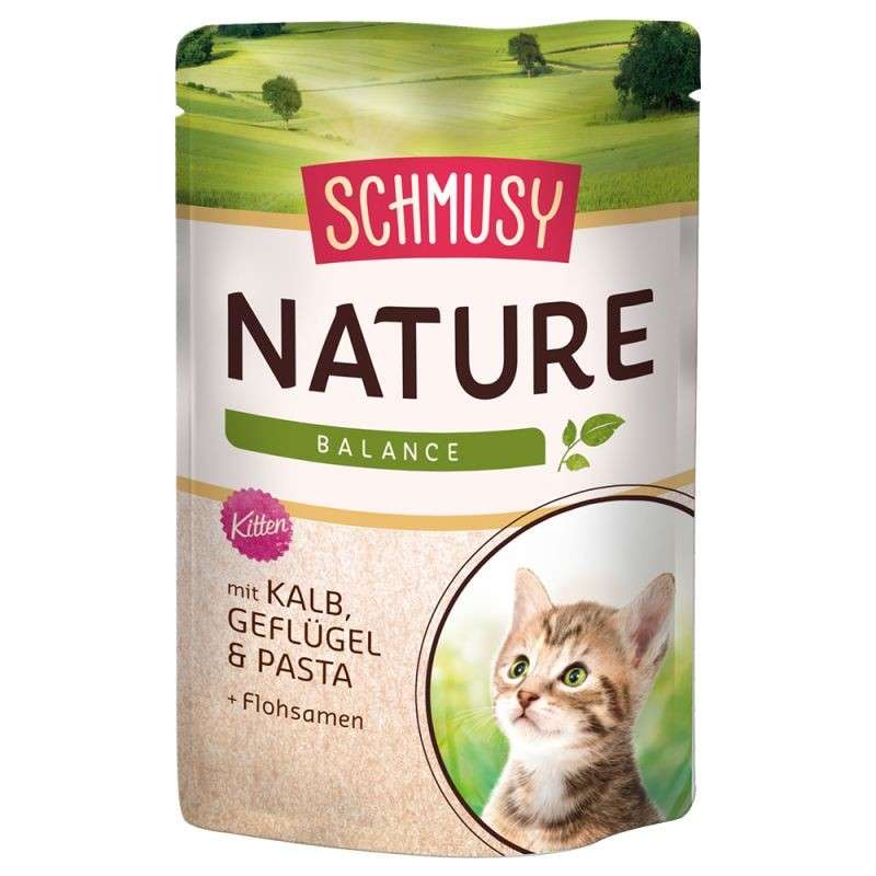 Schmusy Nature Balance Kitten Veal & Poultry