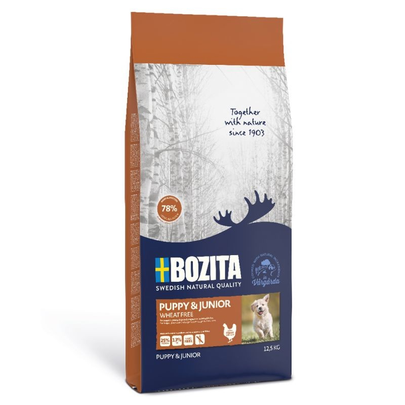 Bozita Puppy und Junior 2 kg, 12.5 kg essay