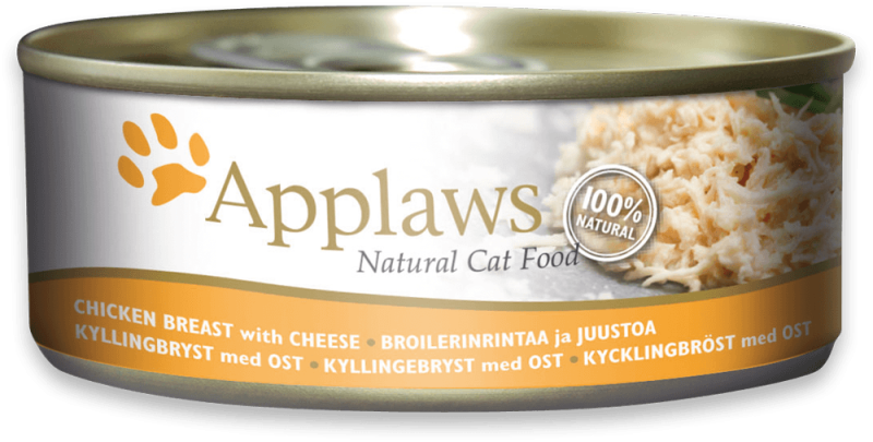 Applaws Natural Cat Food Kipfilet & Kaas 156 g 5060122490054
