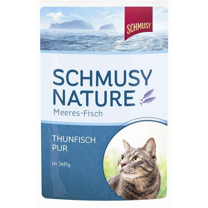 Schmusy Natural Ocean Fish Pure Tuna in Jelly 100 g
