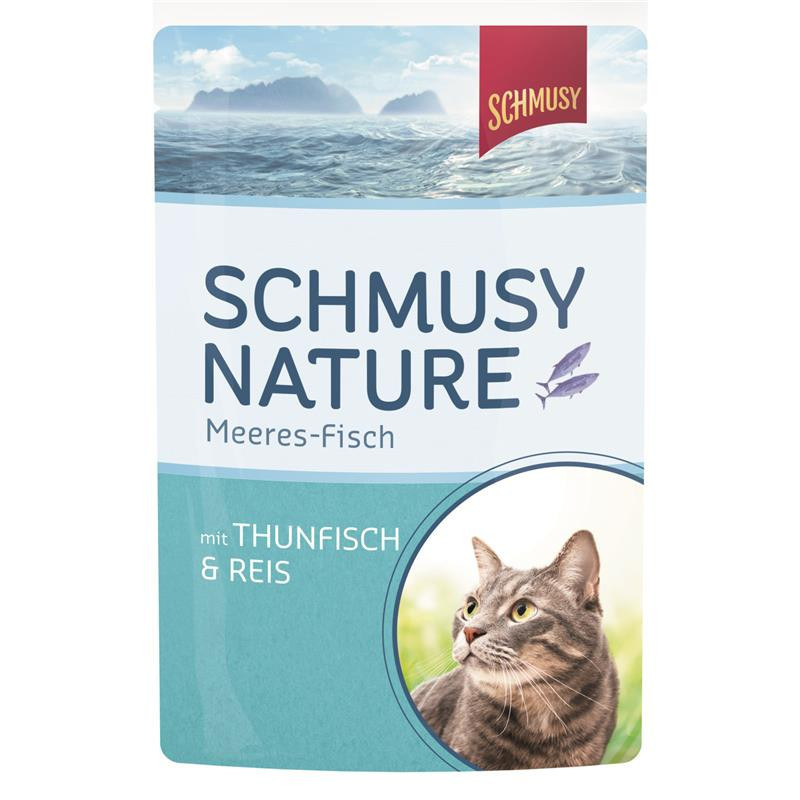 Schmusy Natural Ocean Fish Tuna & Rice 100 g