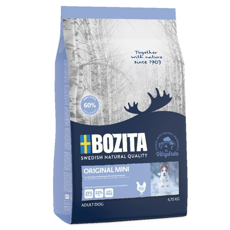 Bozita Original Mini 4.75 kg, 950 g