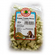 Hundekuchen Puppy Treats Minze 200 g