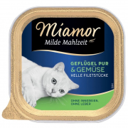 Miamor Milde Mahlzeit Poultry Pure & Vegetables 100 g