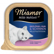 Miamor Milde Mahlzeit Poultry pure and Ham Art.-Nr.: 10837