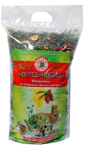 Rosenlöcher Meadow Hay with Strawberry, Banana and Apple 500 g 4012387600618