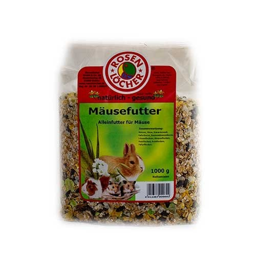 Rosenlöcher Mice Feed 1 kg 4012387009602