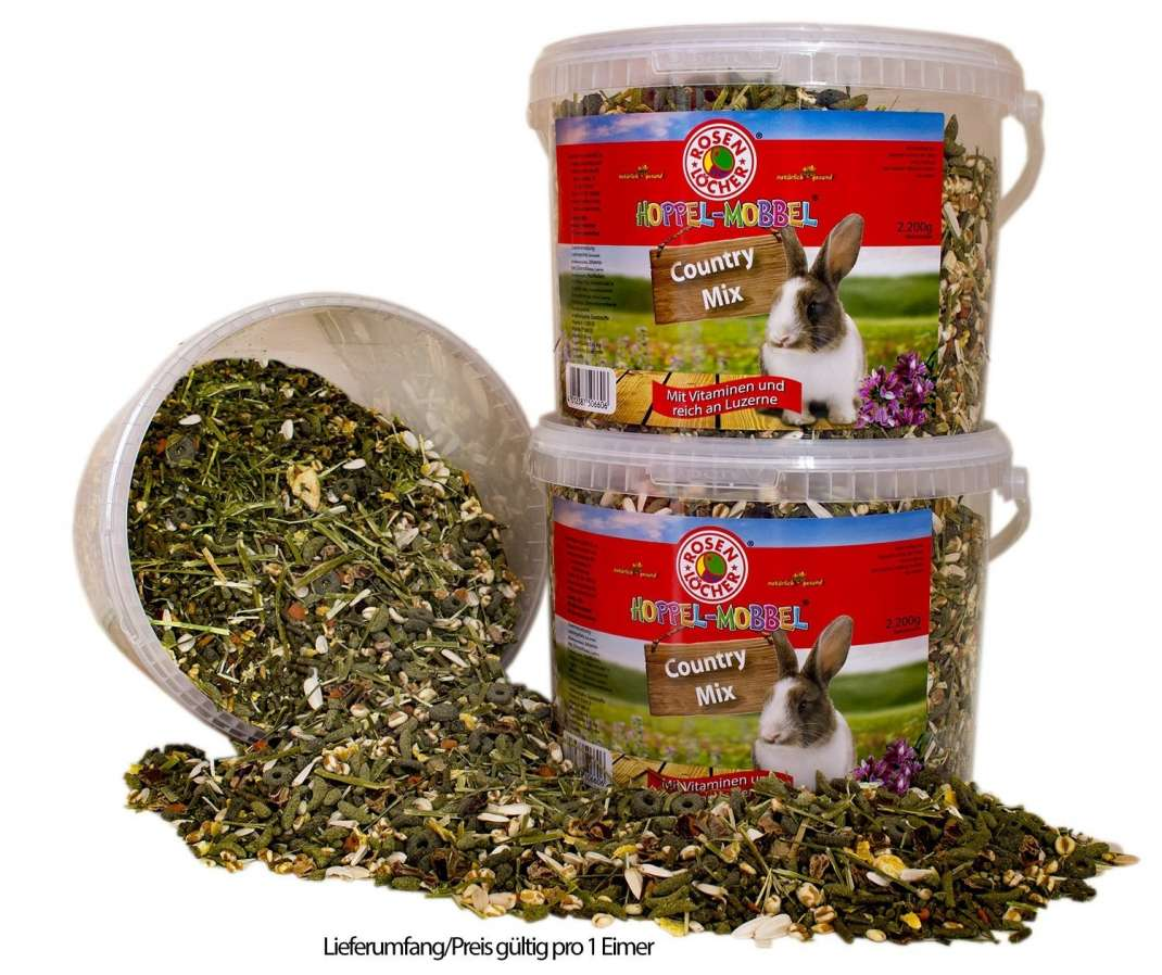 Rosenlöcher Country Mix for Dwarf Rabbits 2.2 kg 4012387506606