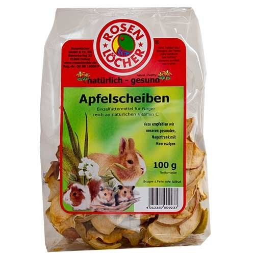 Rosenlöcher Apple Slices & Pieces  100 g