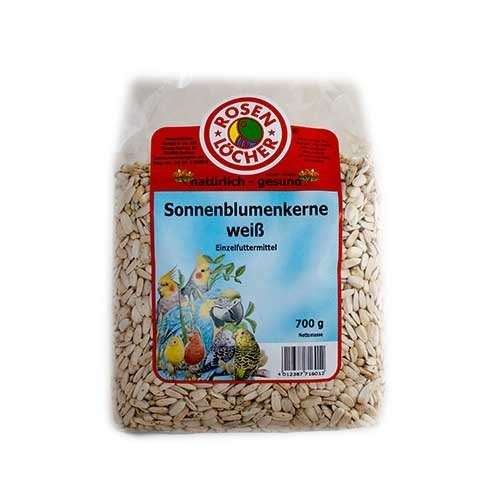 Rosenlöcher White Sunflower Seeds 700 g, 25 kg