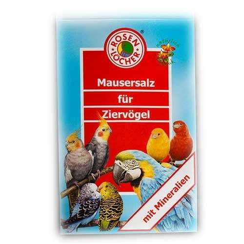 Moulting Salt for Ornamental Birds by Rosenlöcher 15 g buy online