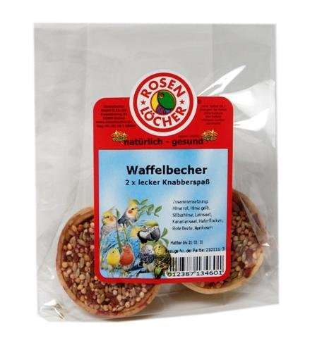 Rosenlöcher Waffle Cup with Delicious Filling  4012387134601 erfaringer