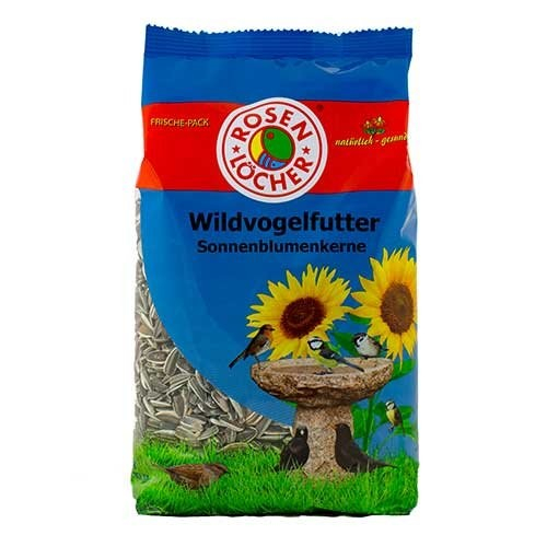Rosenlöcher Striped Sunflower Seeds 600 g 4012387750610 erfaringer